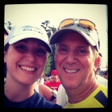 Running with my Dad
